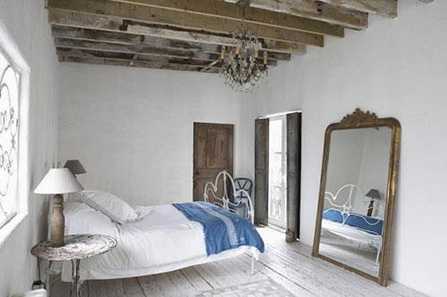 Stoel Voor Op Slaapkamer : Rustieke slaapkamer inspiratie Slaapkamer ...