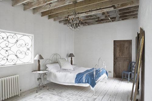 Rustieke slaapkamer inspiratie  Slaapkamer ideeën