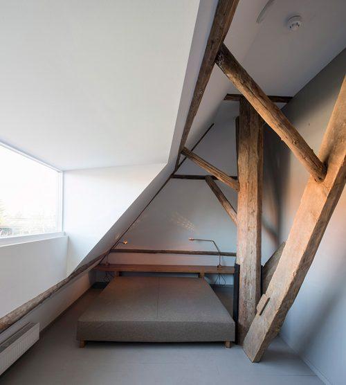 Rustieke stoere slaapkamer van B&B in Friesland
