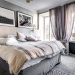 Scandinavisch chique slaapkamer