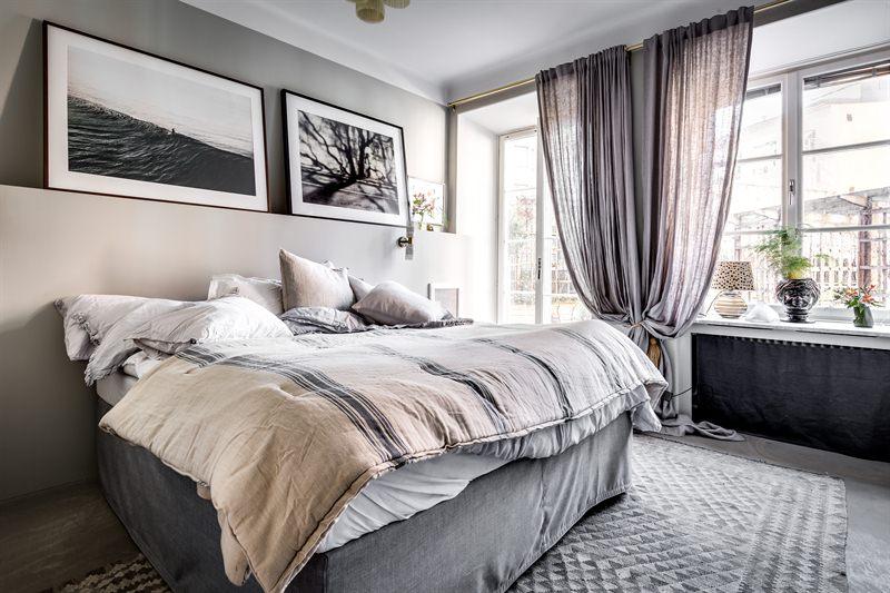 Scandinavisch chique slaapkamer | Slaapkamer ideeën