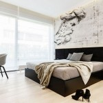 Scandinavische slaapkamer met Italiaanse bijdrage
