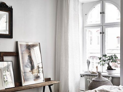 Vintage Stijl Slaapkamer : Scandinavische slaapkamer in bohemian vintage stijl slaapkamer