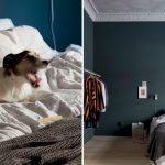 Scandinavische slaapkamer in Hygge stijl