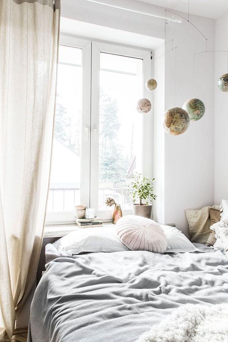 Scandinavische slaapkamer uit Polen