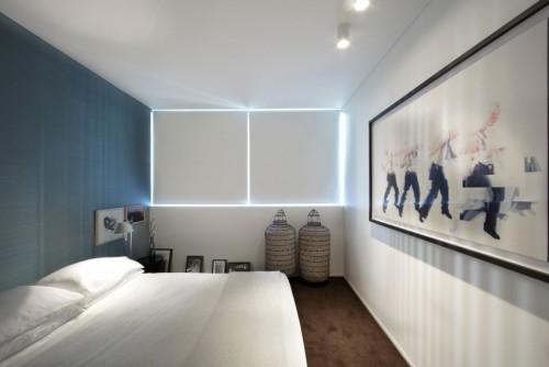 Canvas schilderijen slaapkamer innenarchitektur ruim