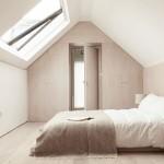 Serene zolder slaapkamer
