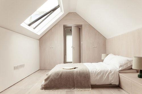 Slaapkamer Zolder Ideeen : Serene zolder slaapkamer Slaapkamer ideeën