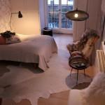 Sfeervolle slaapkamer met herfst thema