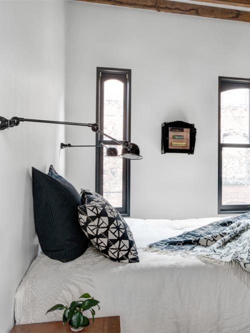Sfeervolle slaapkamer met inbouwkast slaapkamer idee n - Muur jielde ...