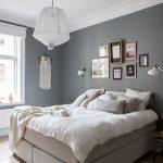 Sfeervolle slaapkamer met mooie styling