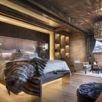 Sfeervolle slaapkamers van Chalet Mont Blanc