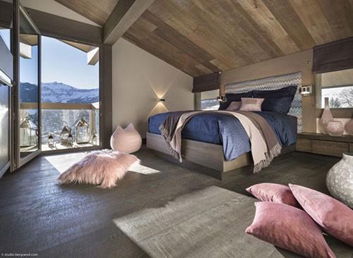 Sfeervolle slaapkamers van chalet mont blanc slaapkamer idee n for Chalet slaapkamer