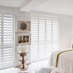 Shutters in slaapkamer