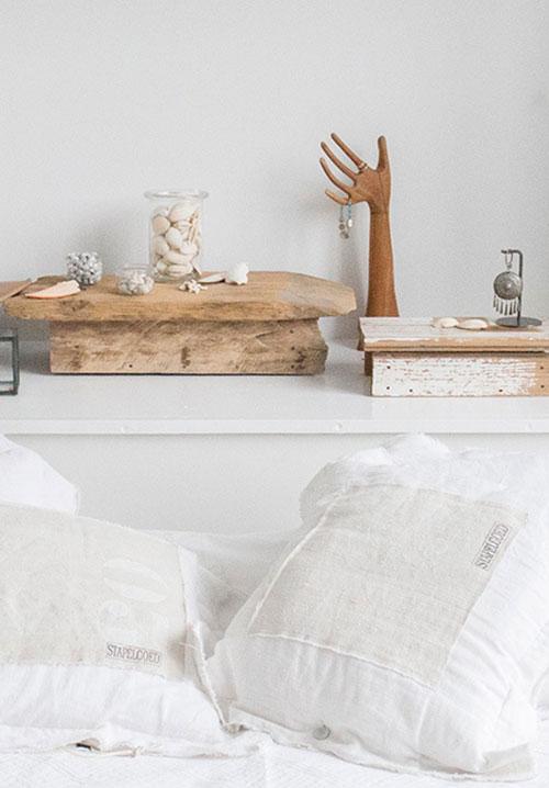 Simpele witte slaapkamer  Slaapkamer ideeën