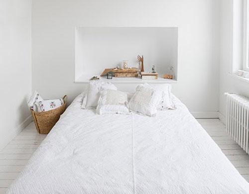 Simpele Slaapkamer Ideeen : Simpele witte slaapkamer slaapkamer ideeën