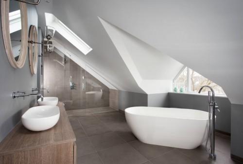 Grijs Met Witte Slaapkamer : Slaapkamer suite met grijze muren ...