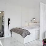 Slaapkamer van 1-kamer appartement