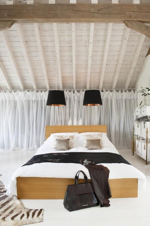Slaapkamer, badkamer en inloopkast op zolder inrichten | Slaapkamer ...