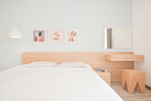 slaapkamer badkamer ontwerp met l indeling