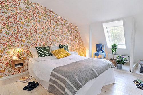 Slaapkamer behang idee n slaapkamer idee n - Behang patroon voor de slaapkamer ...