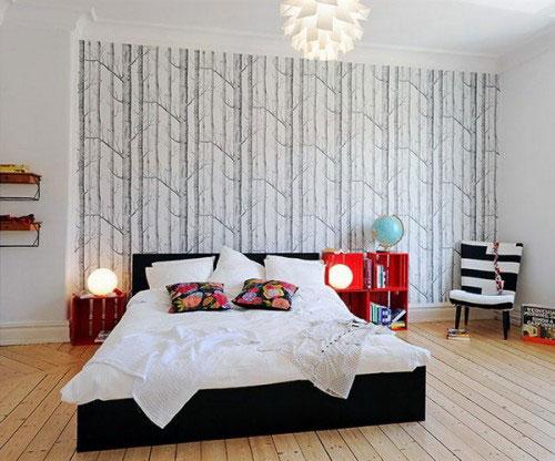 Slaapkamer Ideeen Met Behang : Slaapkamer behang idee?n