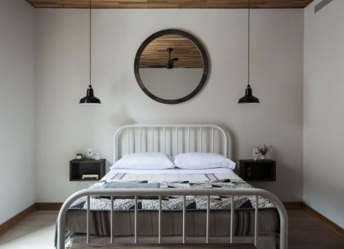 Slaapkamer geinspireerd door trouwlocatie