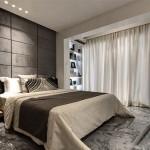 Slaapkamer gordijnen ideeën Slaapkamer met klassieke houten shutters ...
