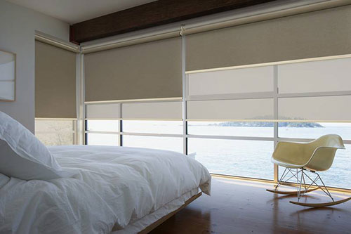 Slaapkamer gordijnen ideeën  Slaapkamer ideeën
