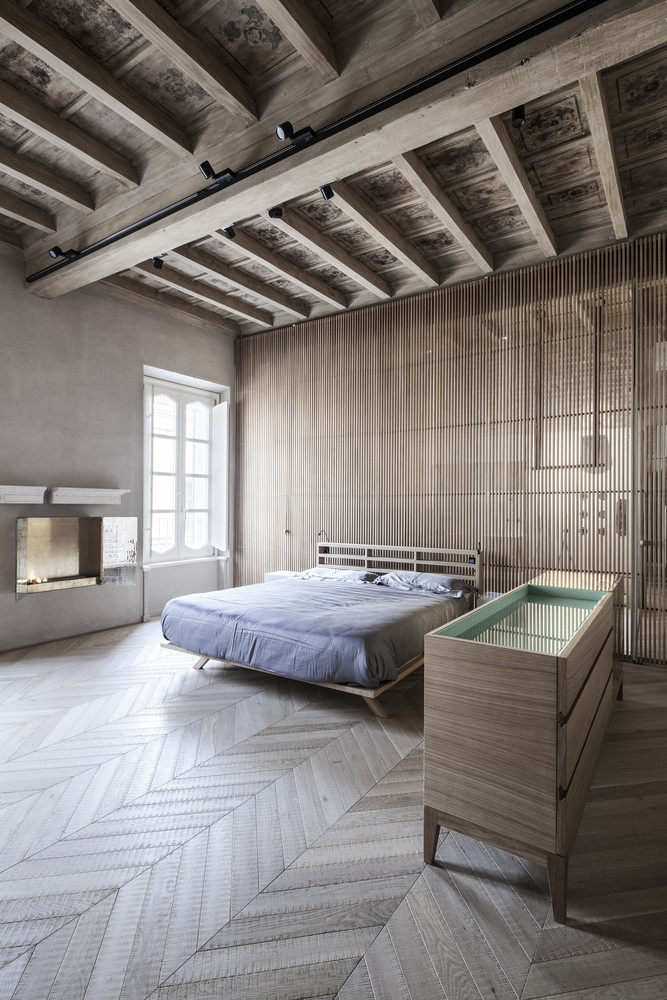 slaapkamer-hongaarse-punt-houten-vloer