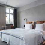 Slaapkamer van Hotel SP34 in Kopenhagen