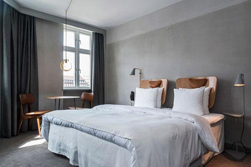 slaapkamer van hotel sp34 in kopenhagen slaapkamer idee235n
