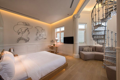 Slaapkamer ideeën van the Macalister Mansion