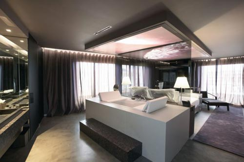 Slaapkamer Inspiratie Bruin : Slaapkamer ideeën van The Vine hotel ...