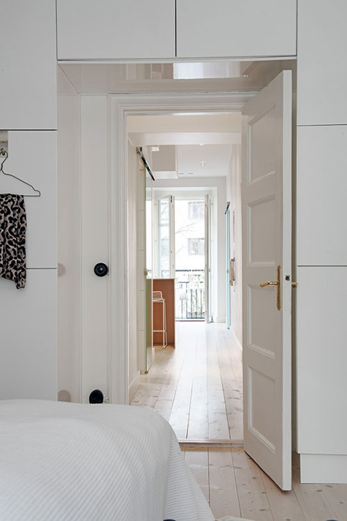 Slaapkamer in Scandinavische stijl  Slaapkamer ideeën