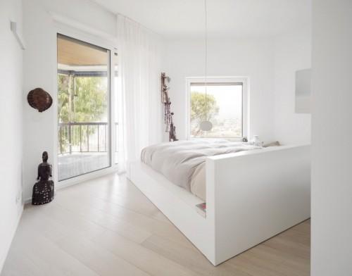 slaapkamer inrichten met ongebruikelijke hoeken | slaapkamer ideeën, Deco ideeën