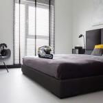 Slaapkamer inrichting voor de vrijgezellen man