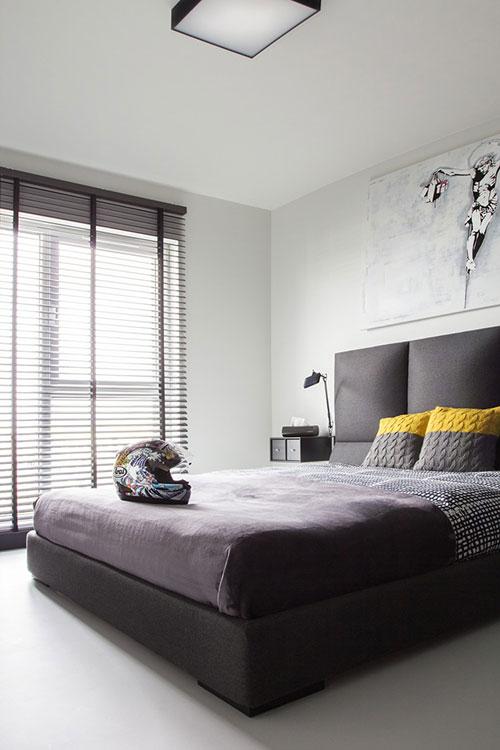 Slaapkamer inrichting voor de vrijgezellen man slaapkamer idee n - Modern slaapkamer modern design ...