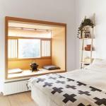 Slaapkamer met Japans tintje