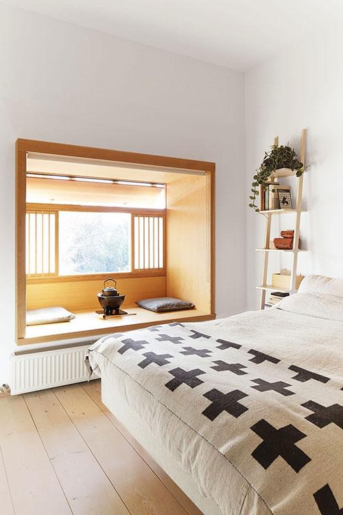 Japanse Slaapkamer Ideeen : Slaapkamer japans tintje met