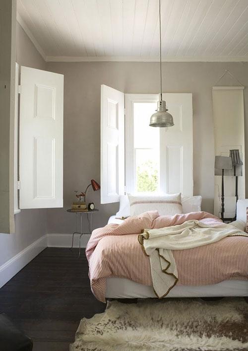 gordijnen landelijke stijl slaapkamer – artsmedia, Deco ideeën