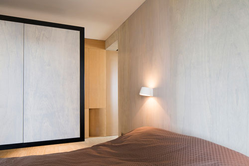 Kast Als Scheidingswand Slaapkamer : Slaapkamer met kledingkast ...