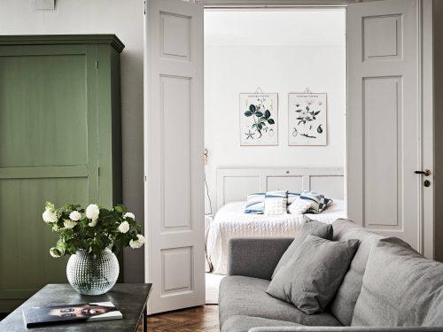 Slaapkamer met landelijk chique sfeer  Slaapkamer ideeën