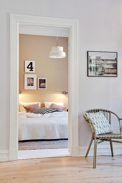 slaapkamer decoratie muur