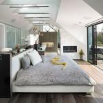 Slaapkamer met alle luxe en gemakken