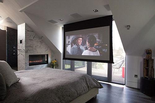 Slaapkamer met alle luxe en gemakken slaapkamer idee n - Slaapkamer met open badkamer ...