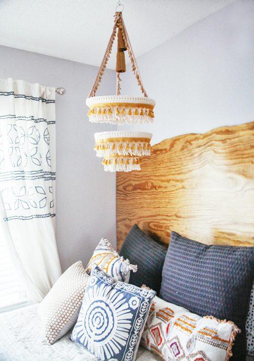Slaapkamer make-over van blogger Anna