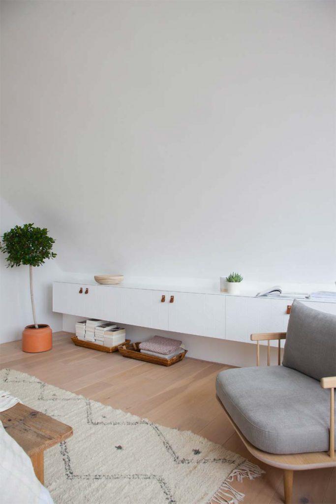 slaapkamer makeover besta kasten