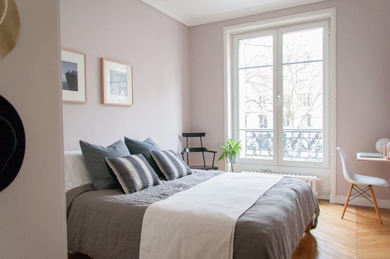 Slaapkamer makeover met zachtroze muren | Slaapkamer ideeën