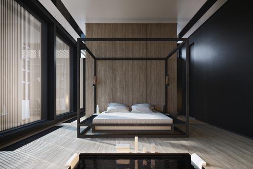 houten vloer slaapkamer  consenza for ., Meubels Ideeën